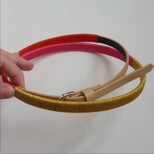 Loft Tri color belt